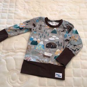 Other - Handmade Outdoor Sweater Shirt